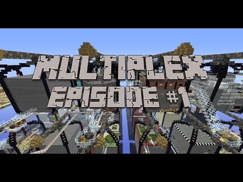 Minecraft- adventure map- Multiplex (the beginning)