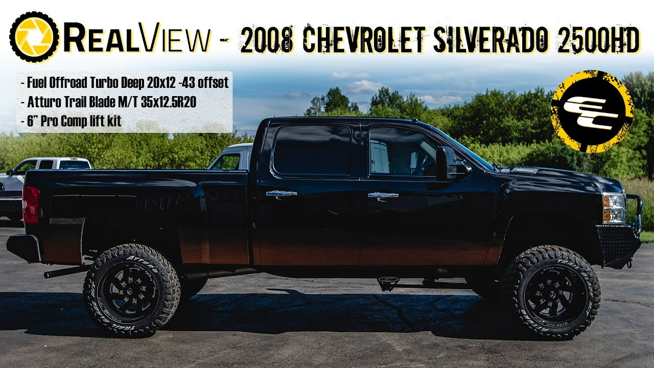 Silverado 2008 chevy silverado 2500 : RealView - 2008 Chevy Silverado 2500HD w/ 6