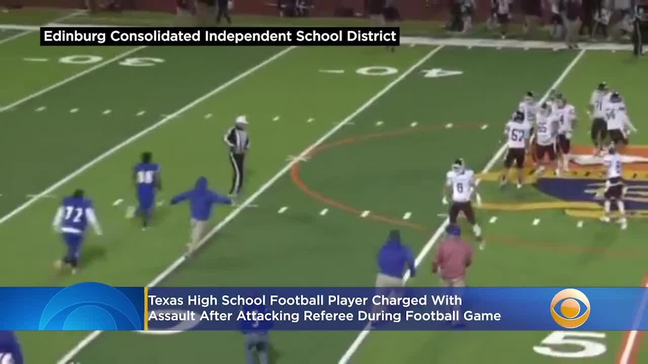 Texas High School Football Player Charged With Assault After Attacking Referee During Football Game