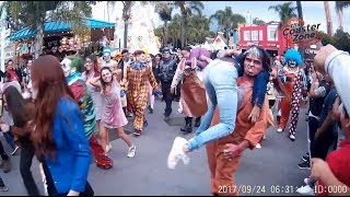 Zombie Walk y Ataque de Monstruos - Festival del Terror 2017 - Six Flags México