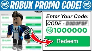 THIS FREE ROBUX PROMO CODE Gives FREE ROBUX! *INSANE* (Roblox 2019)