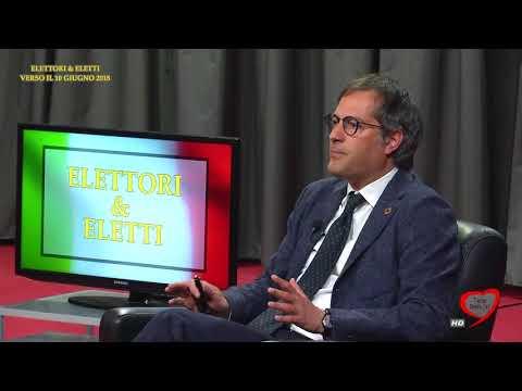 Elettori & Eletti 2017/18 004 Angelantonio Angarano, Candidato sindaco Bisceglie