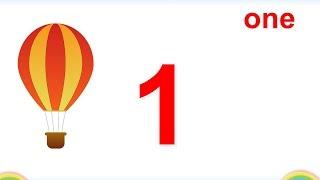 Bé học đếm số tiếng Anh| Counting number 1 to 10| Giáo dục sớm cho trẻ EEB