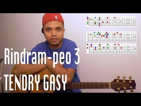 Rindram-peo 3 tsotsotra hoan'ny Gitara tendry gasy