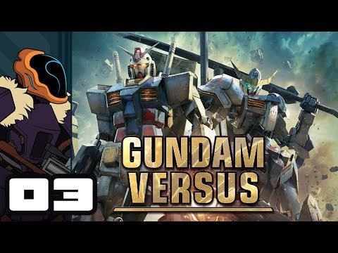 Let's Play Gundam Versus - PS4 Gameplay Part 3 - I've Got Knife Legs!