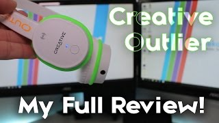 Creative Outlier Review [WIRELESS FITNESS HEADPHONES!]