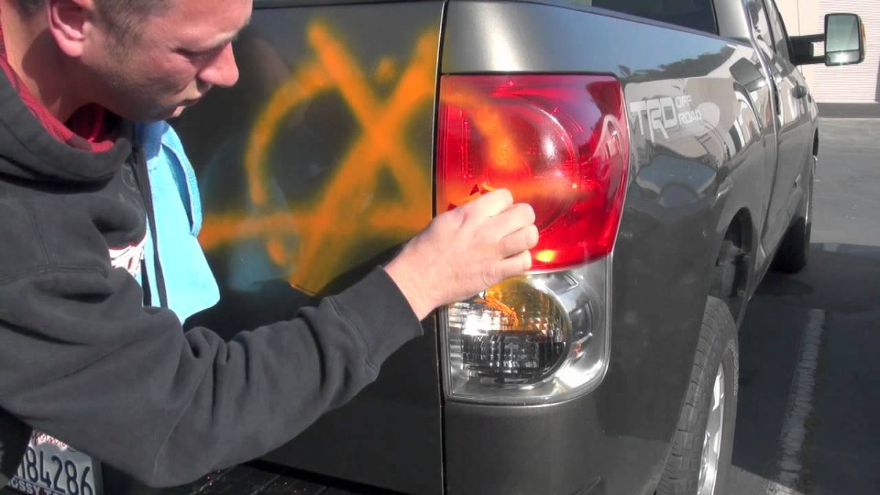Remove Spray Paint From Car >> Lift Off 4 Spray Paint Graffiti Remover