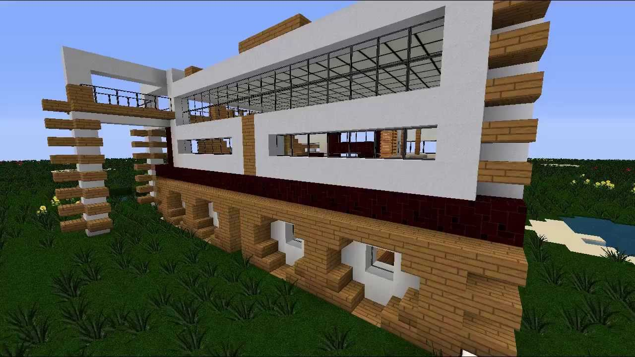 Minecraft city project modern house first house - Quick build houses ...