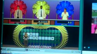 Wheel Of Fortune Deluxe Dos Game 2