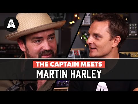 The Captain Meets Martin Harley
