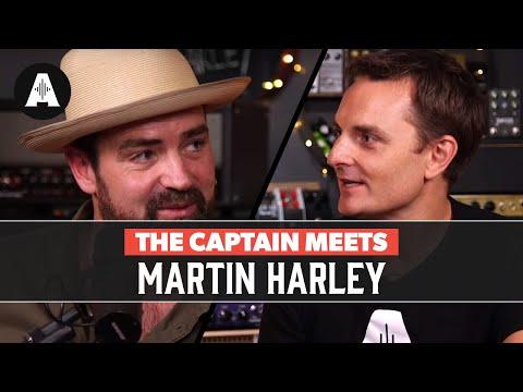 The Captain Meets Martin Harley
