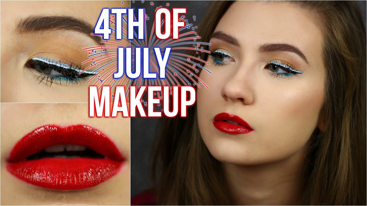 Fun and Easy 4th of July Makeup Tutorial | Mostly Drugstore! | Makeup like pro