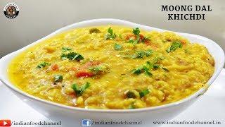 Moong Dal Khichdi Recipe-Healthy Moong Dal Khichdi by Indian Food Channel-मग दल खचड़