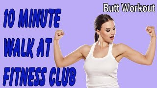 10 Minute Walk At Fitness Club, Treadmill Workout, Rot Chanthon GYM