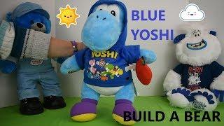 Build A Bear Blue Yoshi New For Christmas 2018