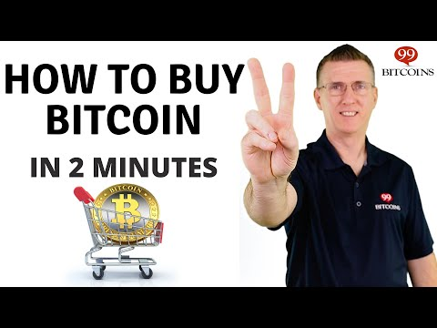 How To Buy Bitcoin (in 2 Minutes) - 2021 Updated