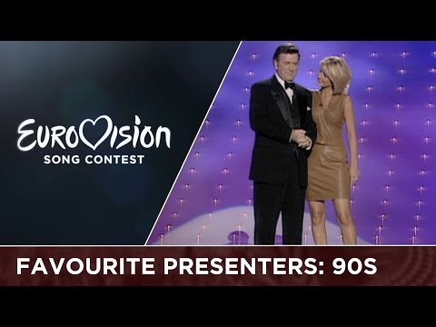 The most popular presenter of the 90s: Terry Wogan & Ulrika Jonsson