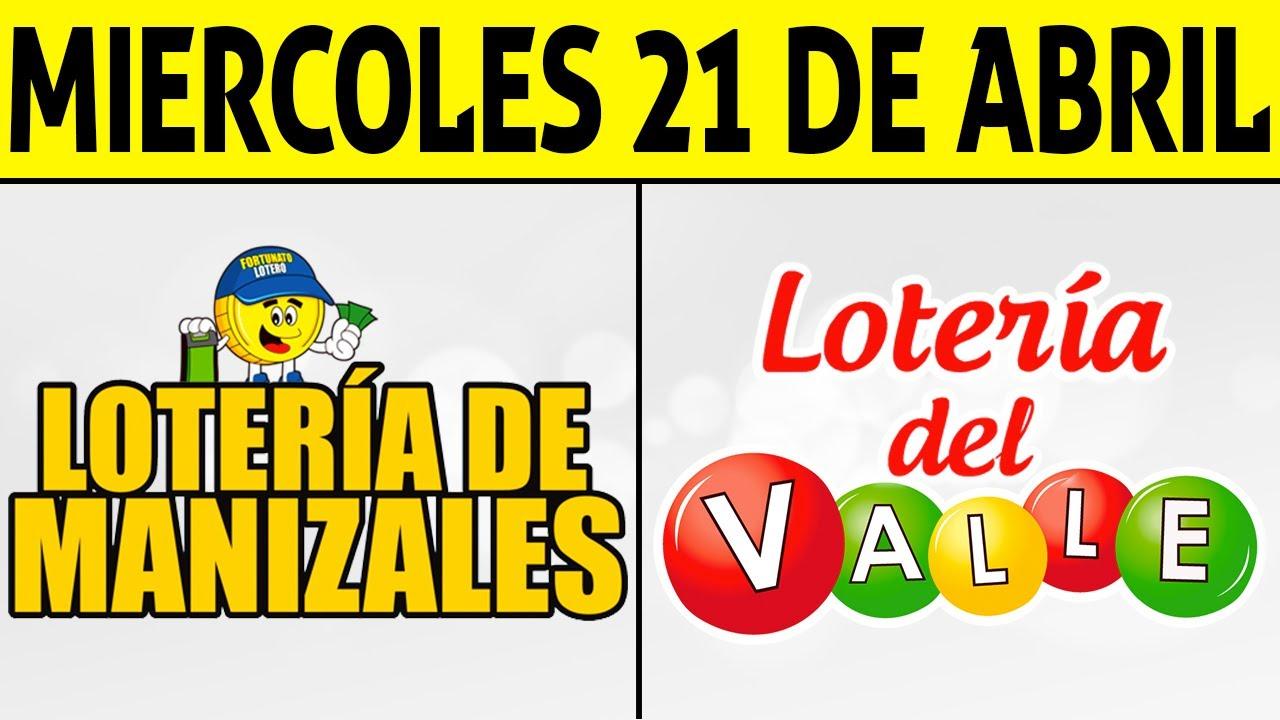 Resultados Lotería de MANIZALES y VALLE Miércoles 21 de Abril de 2021 | PREMIO MAYOR 😱💰🚨