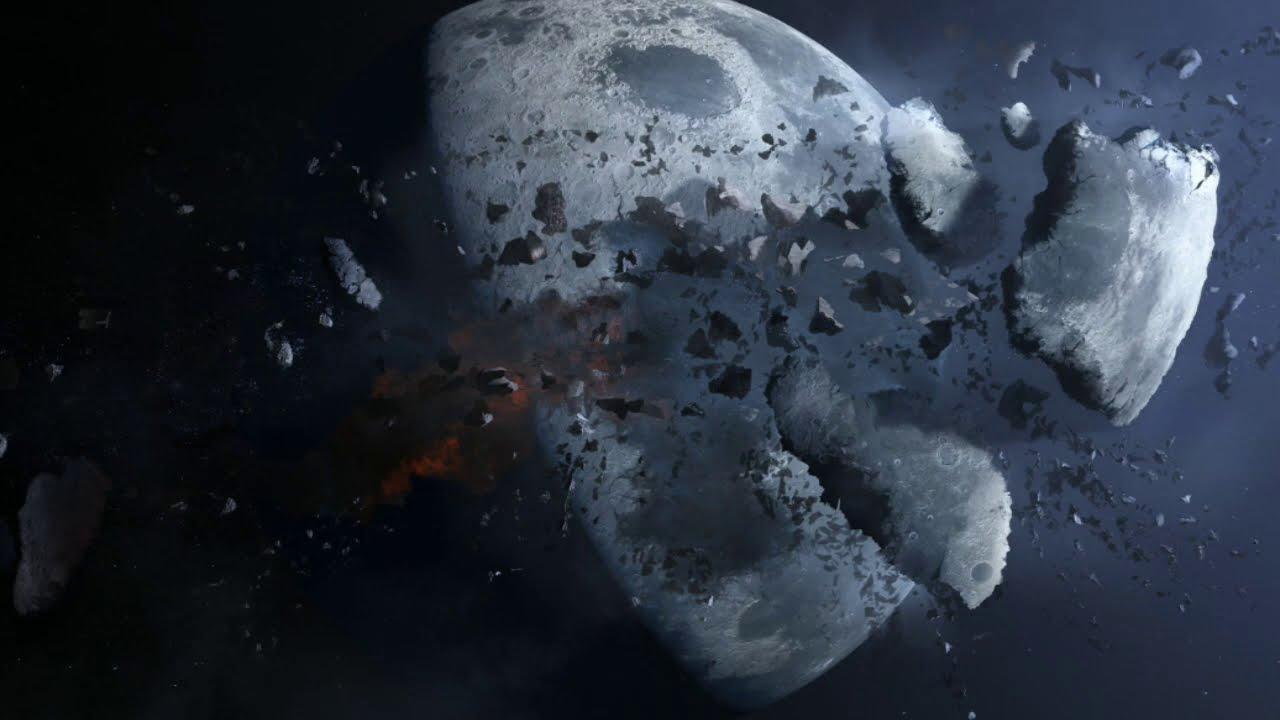 நிலா வெடித்தால் பூமிக்கு என்ன நடக்கும்     If The Moon Exploded?