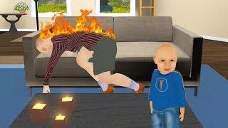 Dzieciak znęca się nad CHORĄ BABCIĄ! (Granny Simulator)