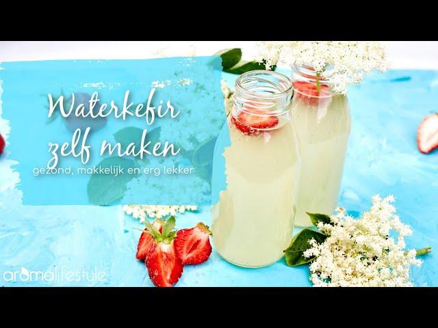 Waterkefir zelf maken