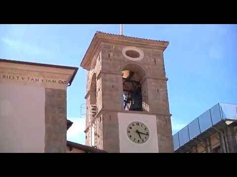 L'Aquila - La ricostruzione del Santuario di Roio Poggio