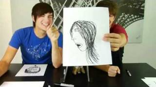 Smosh: Drawing Twilight characters from memory