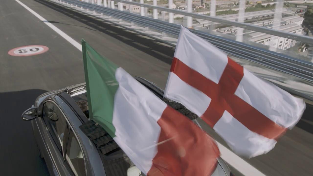 Nuova Fiat 500 | La Nuova Fiat 500 ha percorso il nuovo ponte Genova San Giorgio