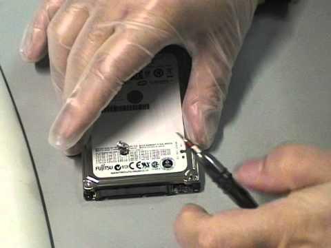 Ouverture du disque dur sata