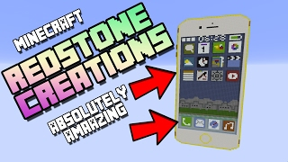 MINECRAFT Redstone Creations That Will BLOW YOUR MIND!!