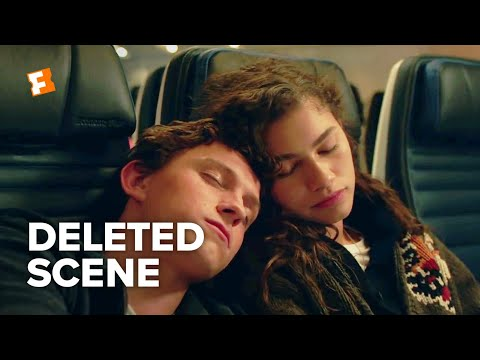 Spider-Man: Far From Home Deleted Scene - Peter & MJ On The Plane (2019) | FandangoNOW Extras