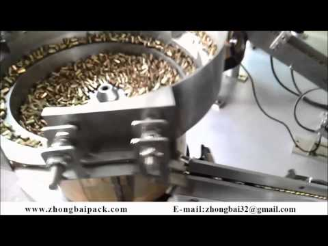 Screws,nuts,bolts counting and packing machine (China manufacturer)