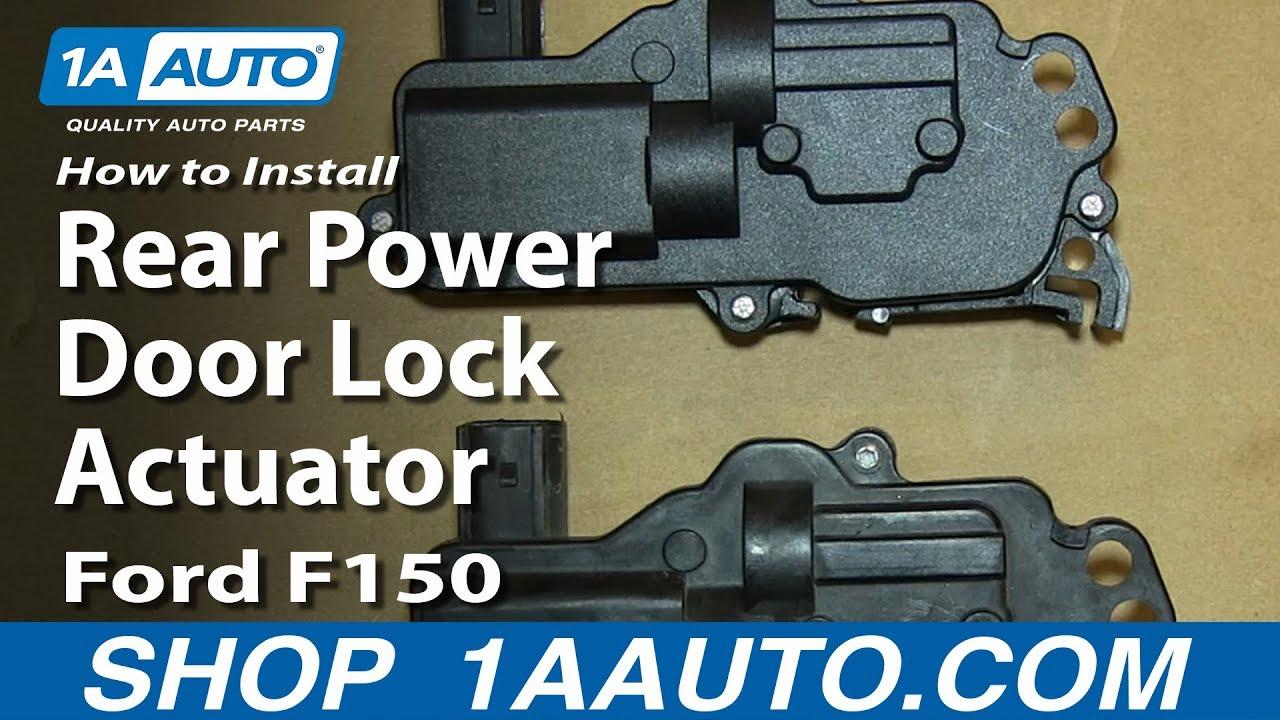 How To Install Replace Rear Power Door Lock Actuator 2004