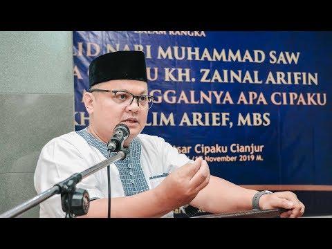 KH. Benghan Syarifudin | Haul AA Cipaku & 100 Hari Meninggalnya Apa Cipaku (KH MUSLIM ARIF.MBS)