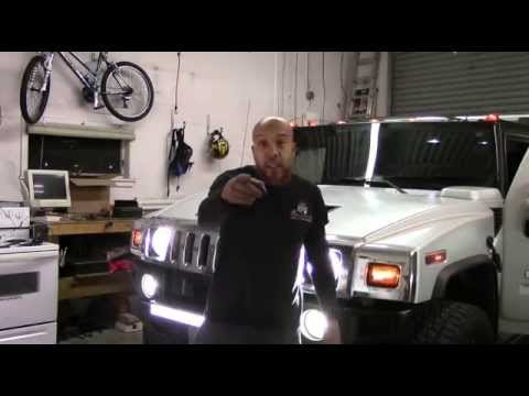 Hid Light Bulbs >> H2 Hummer LED Upgrades - YouTube