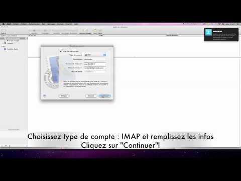 Configuration Compte Mail