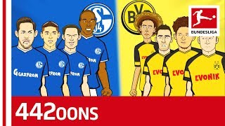 Schalke vs. Dortmund - Top 10 Revierderby Facts - Powered By 442oons