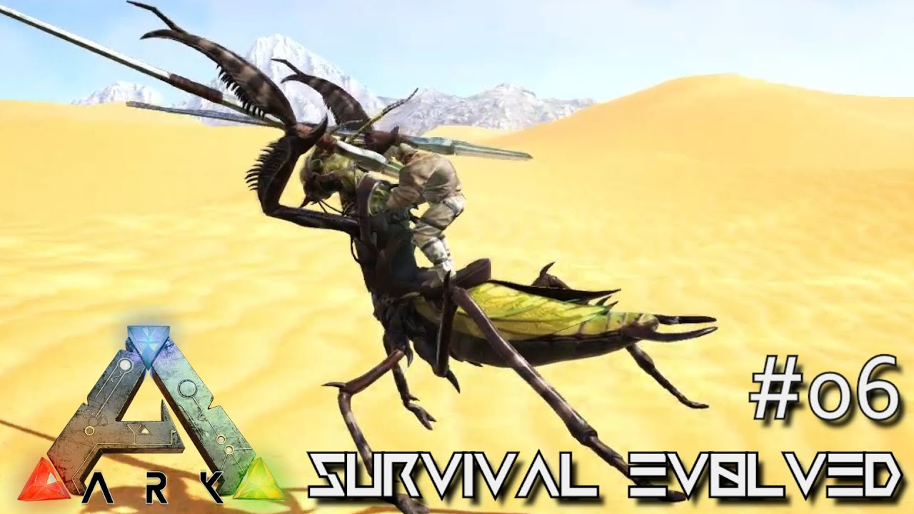 ARK: SCORCHED EARTH - NEW MANTIS TAME & DEATHWORM HORNS !!! E05 (ARK  SURVIVAL EVOLVED GAMEPLAY) by KingDaddyDMAC