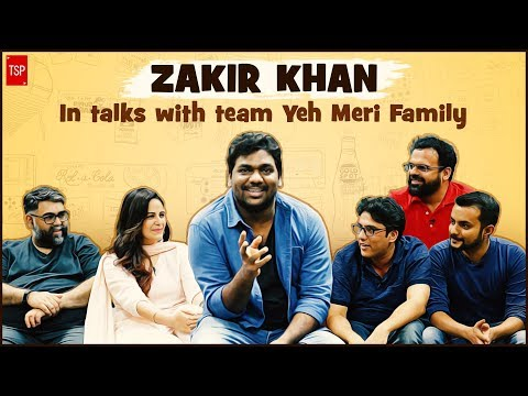 Zakir Khan Podcast: feat. Team Yeh Meri Family | Binge watch on TVFPlay
