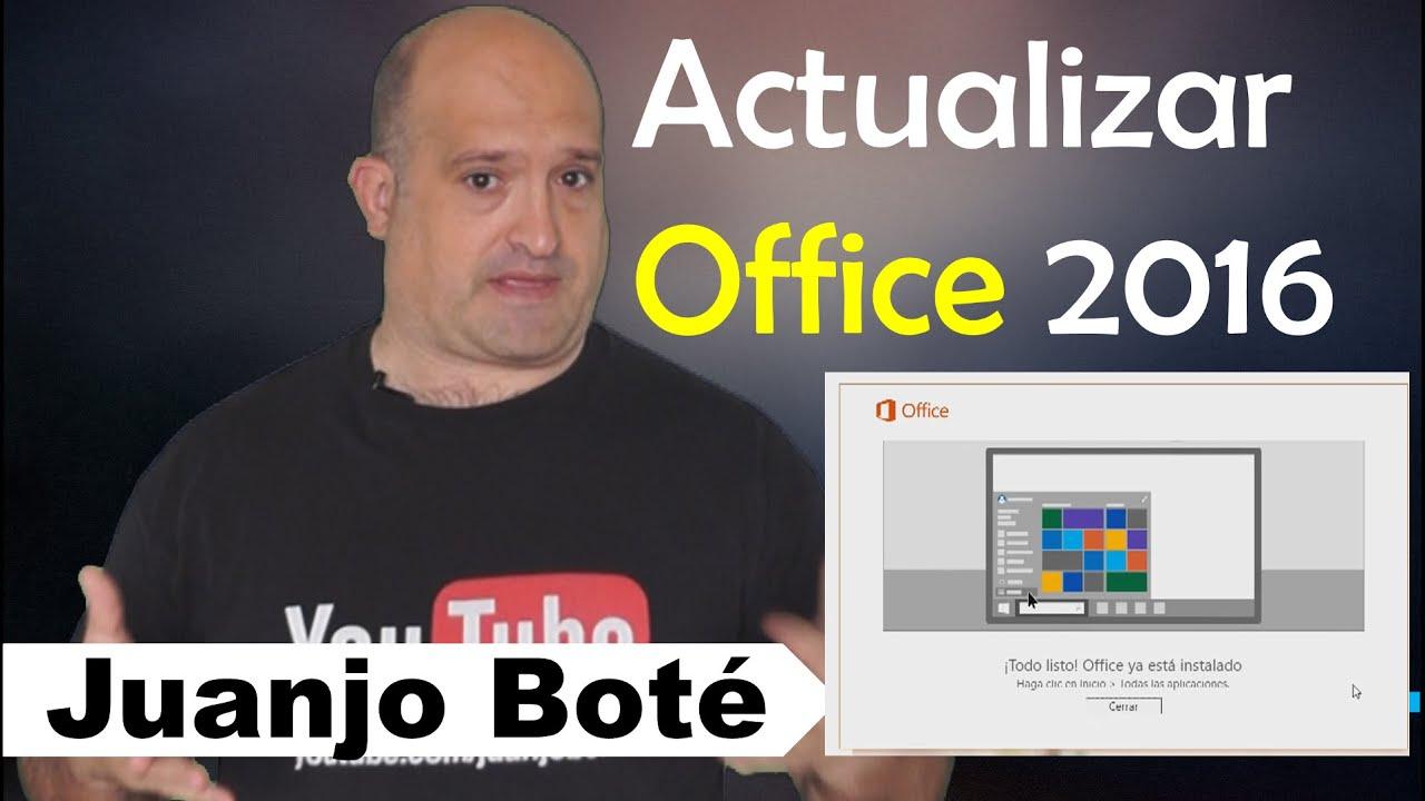 Como Actualizar a #Office 2016 el Office 2013