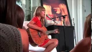 taylor swift 22 acoustic live