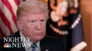 President Donald Trump: James Comey Is 'A Showboat' (Excerpt) | NBC Nightly News