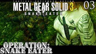 Metal Gear Solid 3: Snake Eater Walkthrough 03 - Operação Snake Eater
