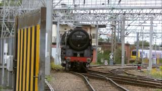 Harnetty Railway Documentary S2 EP2 Pacific Heaven At Crewe Tuesday 6th August 2013