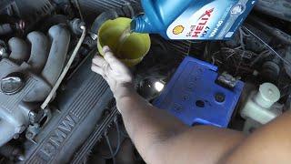 Замена масла в автомобиле  Подробная инструкция