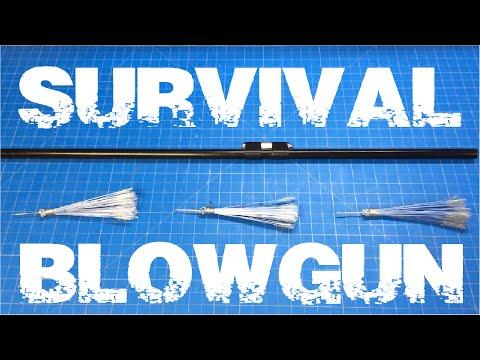DIY $3 Survivalist Blowgun from Household Items!
