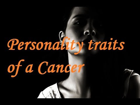 10 Personality traits of a Cancer!
