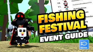 How to Get Ticĸets & Event Guide for Fishing Festival in Roblox Islands