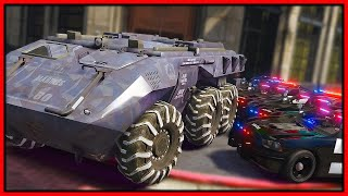 GTA 5 Roleplay - INDESTRUCTIBLE TANK ROBBING EVERY BANK | RedlineRP
