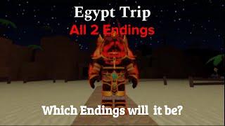 ROBLOX Egypt Trip | All 2 Endings